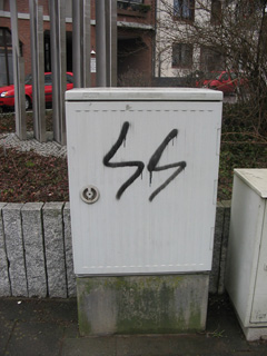 SS-Runen in Windberg